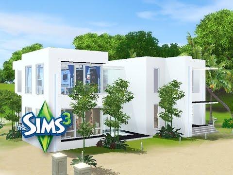 Sims 3 Haus Bauen Let S Build Schickes Kleines Haus Am Strand