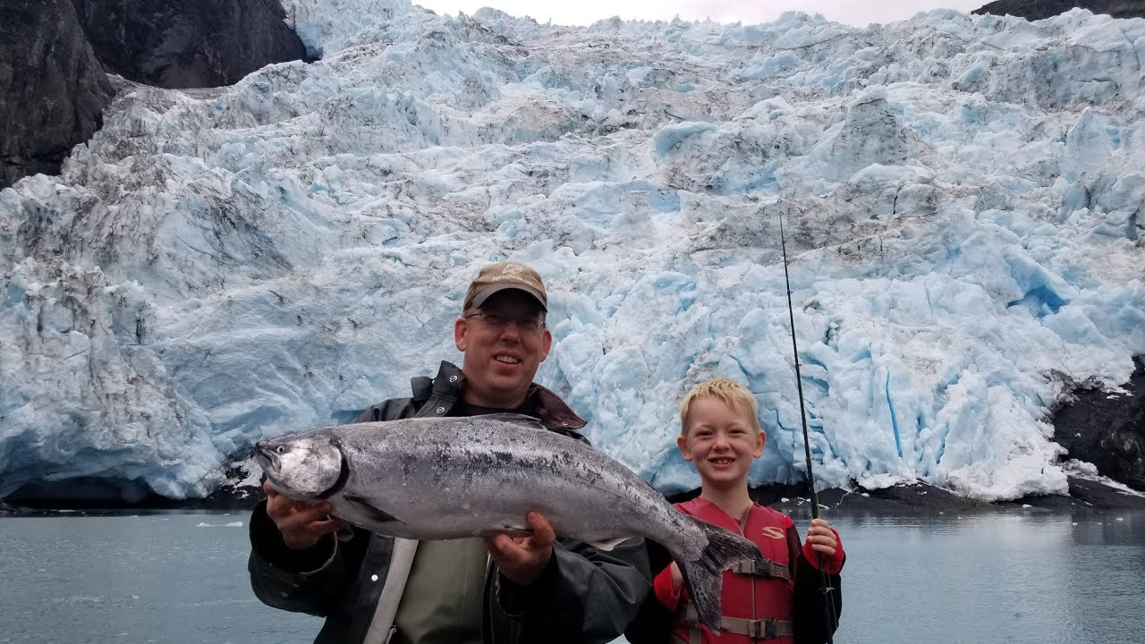 Fishing Camping & Exploring Glaciers with My Family in Alaska