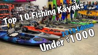 Top 10 Fishing Kayaks Under $1000 | 2019 Edition