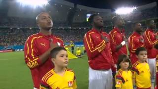 National Anthems World Cup 2014: USA - Ghana National Anthems