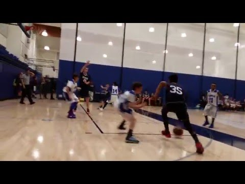 7th Grader Brendan Terry Slices Through Defense to Score vs Windward School - 2016