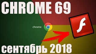 [Новый Google Chrome 2018] Как запустить плагин Adobe Flash Player ?