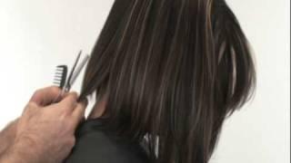 Shoulder Length A-line Bob Finishing Techniques - by Joe Hamer   |   Joe Hamer Salon