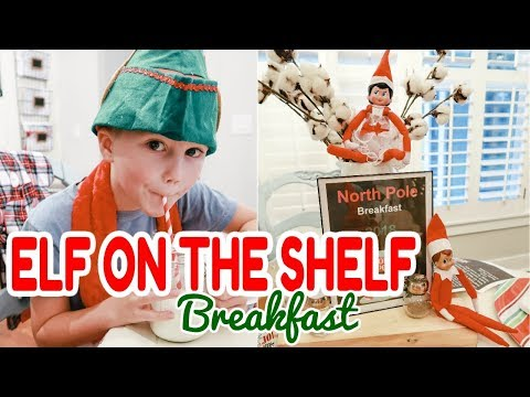 ELF ON THE SHELF NORTH POLE BREAKFAST // WHAT'S IN MY BAG // DAY IN THE LIFE
