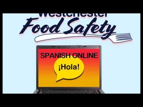 Servsafe Online Course in Spanish / Curso en Español Westchester Food Safety, NY, NJ & CT