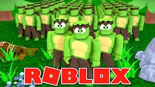 CLONE ARMY WARS! - Clone Tycoon Roblox w/TinyTurtle