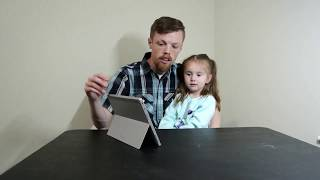 Daddy Daughter Tablet Review