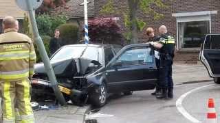 Ongeval met beknelling mauritsweg Stein (24-4531, 24-112 en Politie Noodhulp)