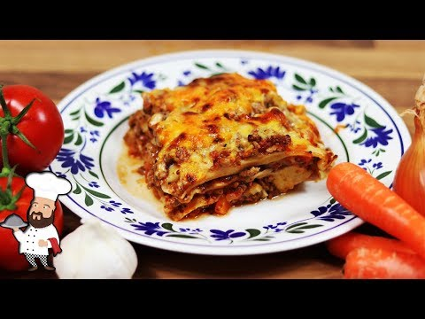 How To Make Lasagna - Delicious And Simple Recipe With Cheese Sauce