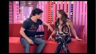 Candelaria y Facundo en The U-mix Show (Dani)