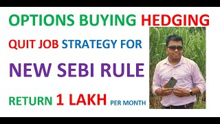 BANKNIFTY OPTIONS BUYING INTRADAY HEDGING STRATEGY 1 LAKH MONTHLY RETURN PROTECTED WITH AGGRESSION