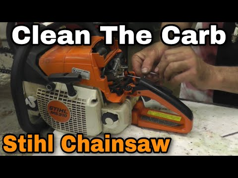 How To Clean The Carburetor On A Stihl Chainsaw - With Taryl