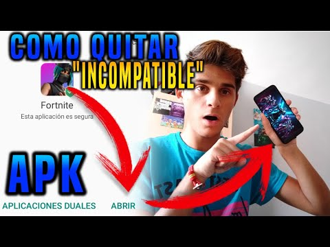 JUGAR FORTNITE en ANDROID NO COMPATIBLE | Como instalar Fortnite APK  #Smartphone #Android