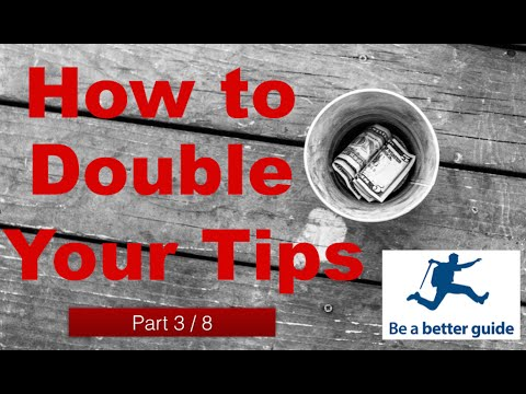 Learn how one incredible academic study on tipping can double your tips! Part 3 of 8