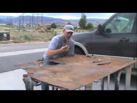 Round Up River Ranch Metal Art work by Art of Metal Designs