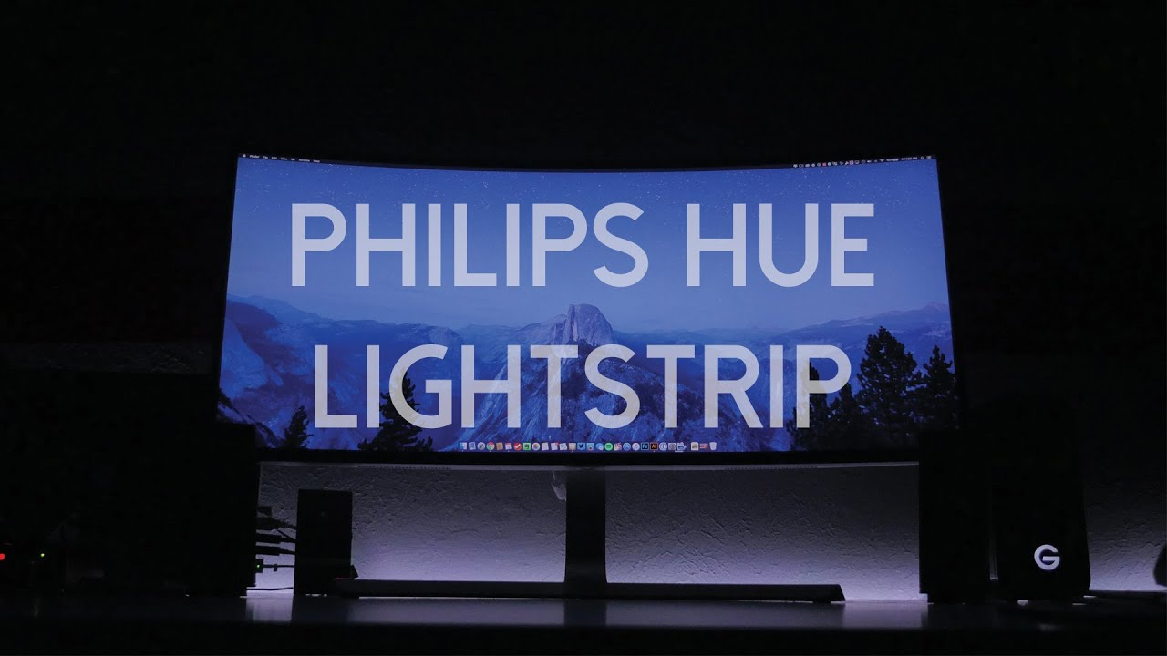 Philips Hue Lightstrip Starter Kit Review