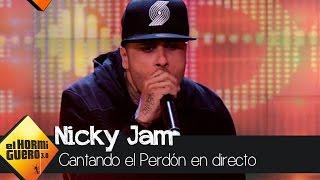 Nicky Jam canta en directo en El Hormiguero 3.0