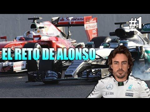 F1 2016 MOD - EL RETO DE ALONSO #1 (RUSIA)