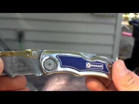 kobalt box cutter instructions 1