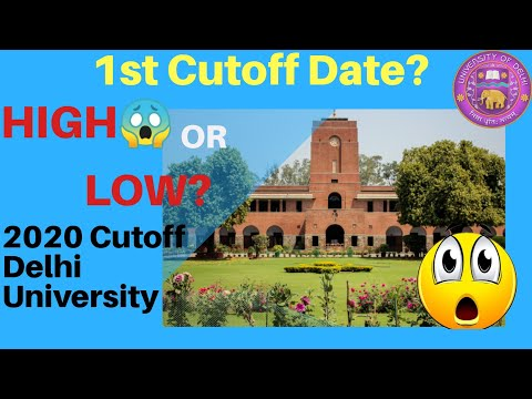 Delhi University expected cut off 2020 | why cut offs of du has increased | knowducation