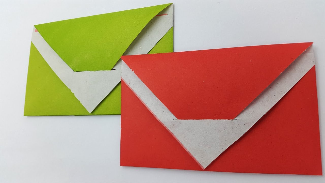Envelope Making With Paper | Super Easy Origami Envelope Tutorial ... | 720x1280