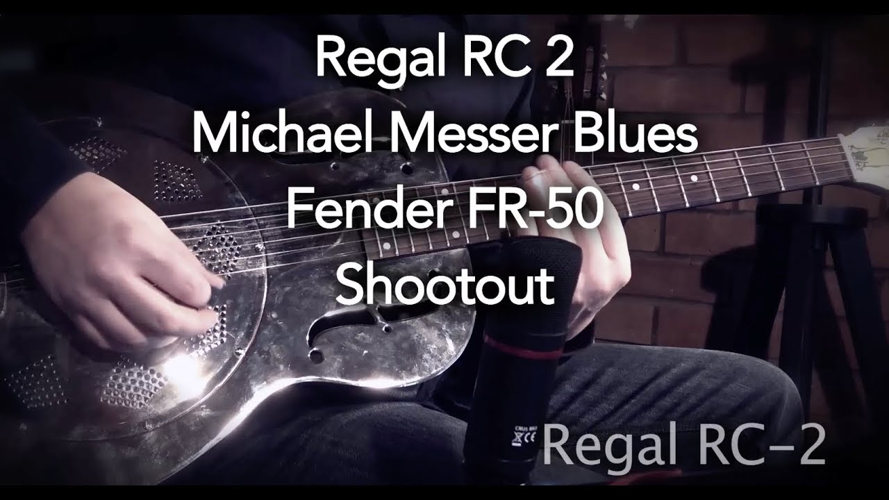Resonator Comparison Fender Regal Michael Messer Youtube