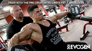 Train with The Pro Creator: No Limits FST-7 Shoulders with Andrei Deiu