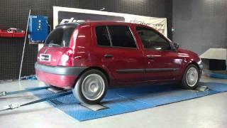 Reprogrammation moteur Renault Clio dti 80cv @ 104cv dyno digiservices