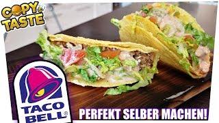 Taco Bell - Cheesy Gordita Crunch einfach selber machen! 🌮🤤 Copy & Taste #CaT