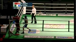 Light Fly (49kg) Final - Daraa (MAR) vs Flissi (ALG) - 2012 African Olympic Qualifying Event