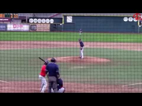 Garrett Myers #14 2015  Lower Columbia College Fall Baseball world series 2015