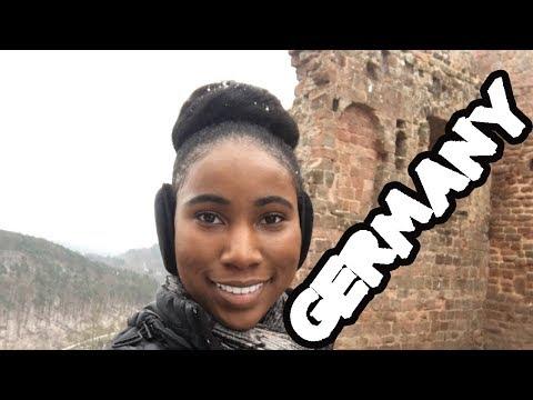 Germany Travel Vlog | Traveling to Kaiserslautern and Frankfurt Germany
