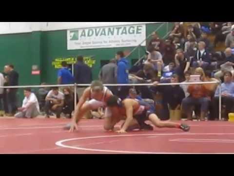 2015-01-10 Jakob Camacho (Danbury) Vs. Kyle Mosher (South Side) 99#