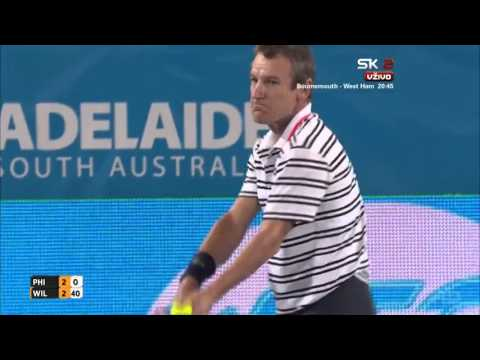 Mark Philippoussis vs Mats Wilander FULL MATCH HD World Tennis Challenge 2016