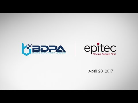 Tony Hollamon - BDPA presentation