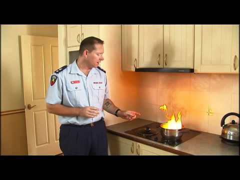 QFRS Catching Fire series - Part 4 - Kitchen fire safety