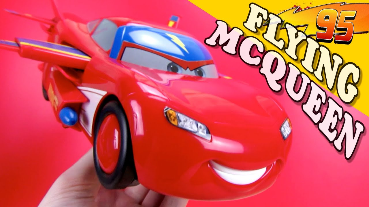 FLYING TRANSFORMING LIGHTNING MCQUEEN DISNEYCARS RELAMPAGO MAQUIM ...
