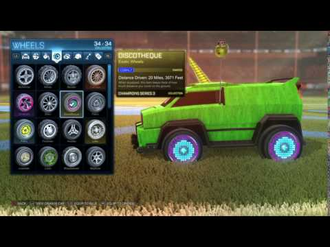 Rocket League® Cobalt Discos