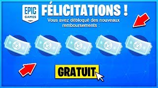 VOICI your FREE TICKETS on Fortnite!