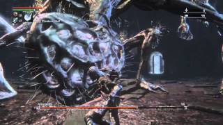 Bloodborne - Amygdala Boss in Cursed Defiled Chalice dungeon with Commentary