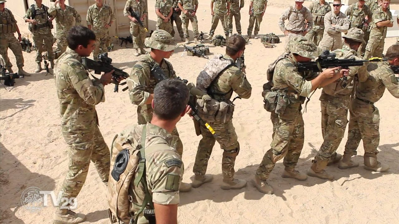 us marines train with royal british counterparts youtube