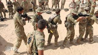 US Marines train with Royal British Counterparts