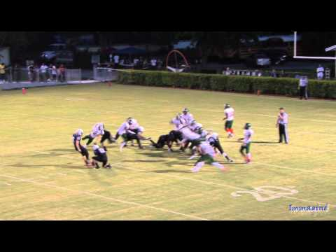 American Heritage Stallions Vs Atlantic Eagles High School Varsity Football Highlights 8/31/12