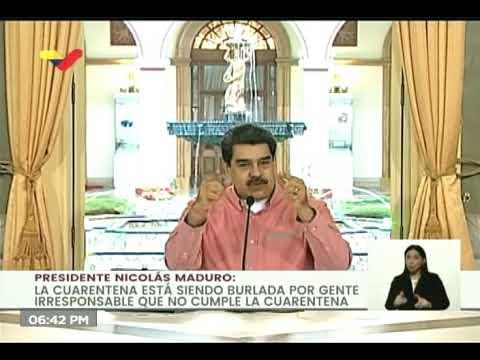 El DURO llamado de Maduro a acatar la cuarentena luego de que trocheros infectaran a comunidad pemón