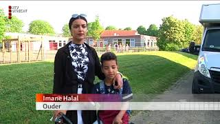 Brand op een school in Houten [RTV Utrecht]