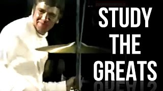 Buddy Rich One Handed Roll | STUDY THE GREATS