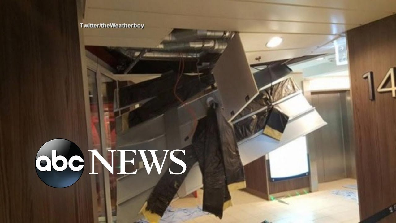 Bahamas-Bound Cruise Ship Caught in Hurricane-Force Winds