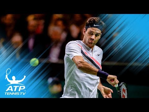 Federer reclaims No.1, faces Seppi in semi-finals | Rotterdam 2018 Highlights Day 5