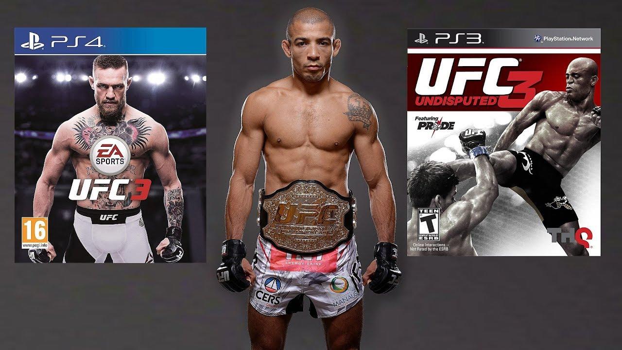 EA UFC 3 vs UFC Undisputed 3! - Which Jose Aldo Is Better ...Ufc Undisputed 4 Ps3