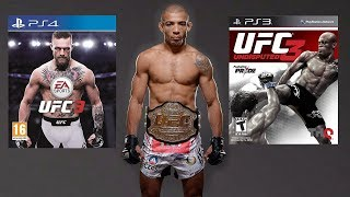 EA UFC 3 vs UFC Undisputed 3! - Which Jose Aldo Is Better?!